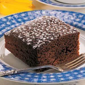 Homemade Chocolate Snack Cake