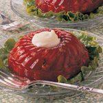 Strawberry-Rhubarb Gelatin