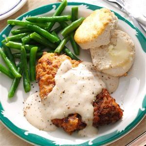 Chicken-Fried Steak & Gravy