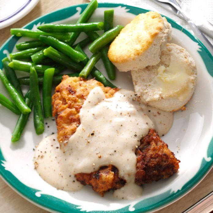Chicken-Fried Steak & Gravy