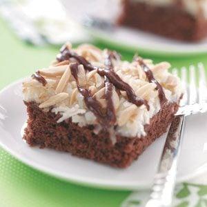 Best Coconut Chocolate Cake