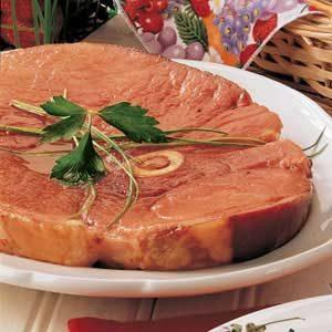 Sweet Ham Steak
