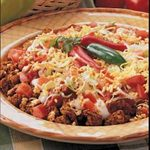 Turkey Taco Dip