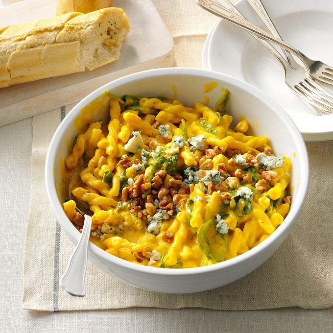 Winter Squash & Blue Cheese Pasta