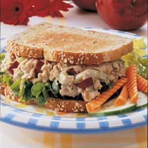 Apple Tuna Sandwiches