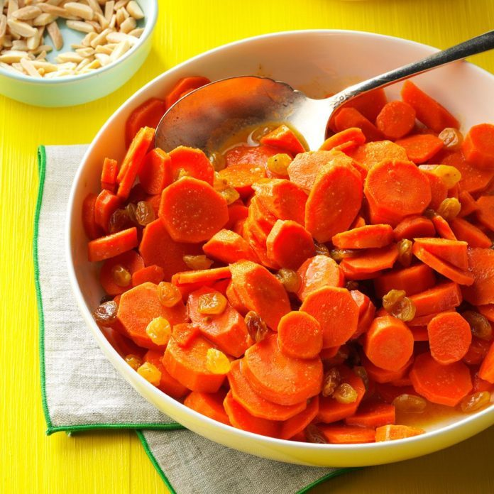 Honey & Ginger Glazed Carrots