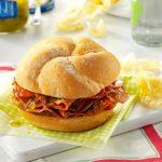 Hot Ham Sandwiches