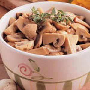 Tangy Marinated Mushrooms