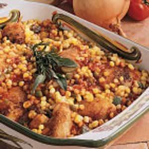 Barbecue Chicken Casserole