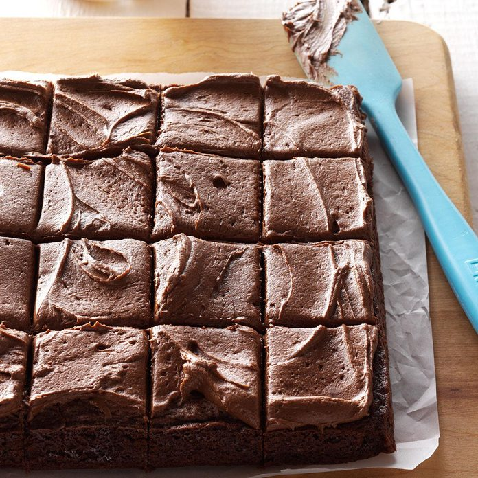 Frosted Fudge Brownies