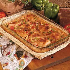 Spanish Rice and Chicken