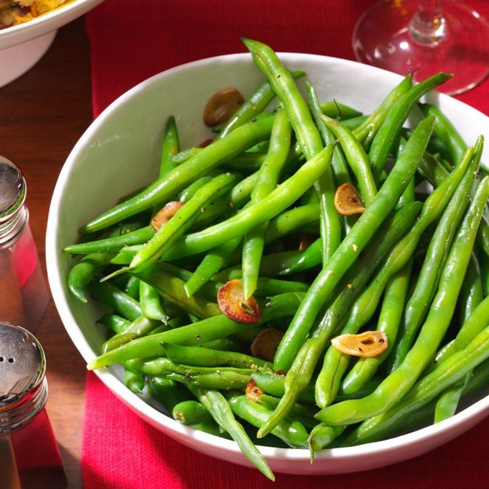 Inspired by: French Green Beans