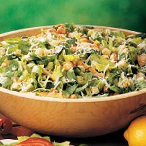 Quick Chicken Caesar Salad
