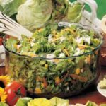 Lettuce with Blue Cheese Dressing