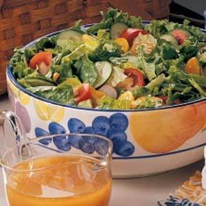French Vinaigrette Salad