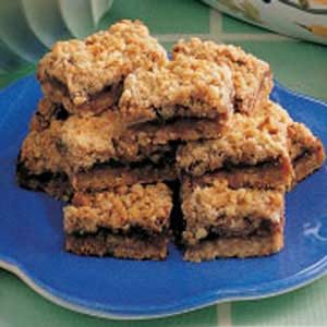 Apple-Berry Streusel Bars