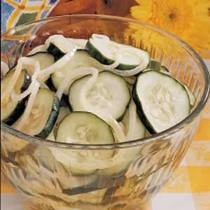 Refrigerator Cucumber Slices
