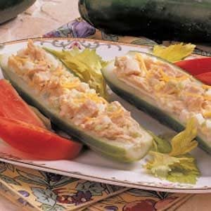 Cucumber Tuna Boats