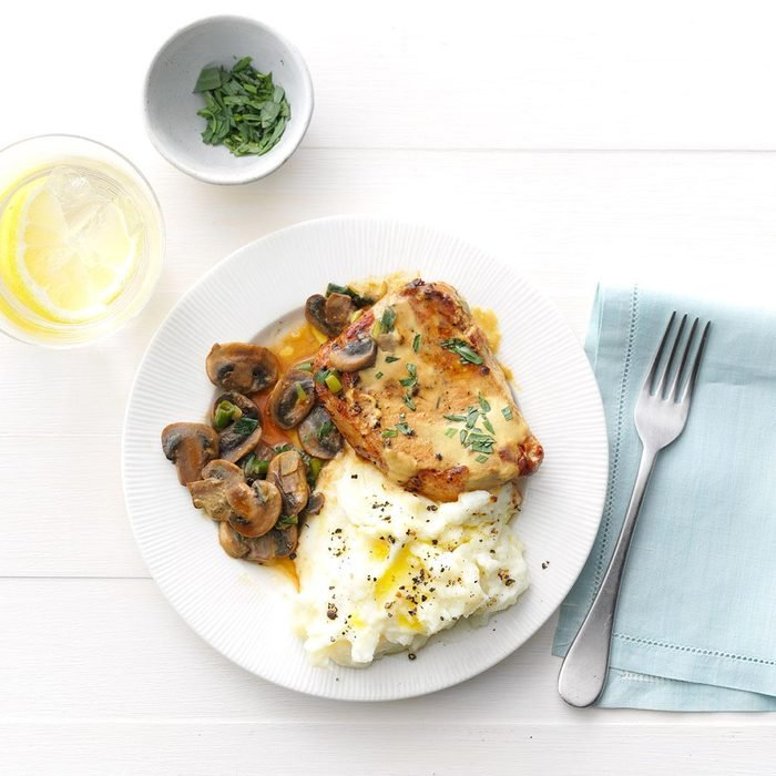 Tarragon-Dijon Pork Chops