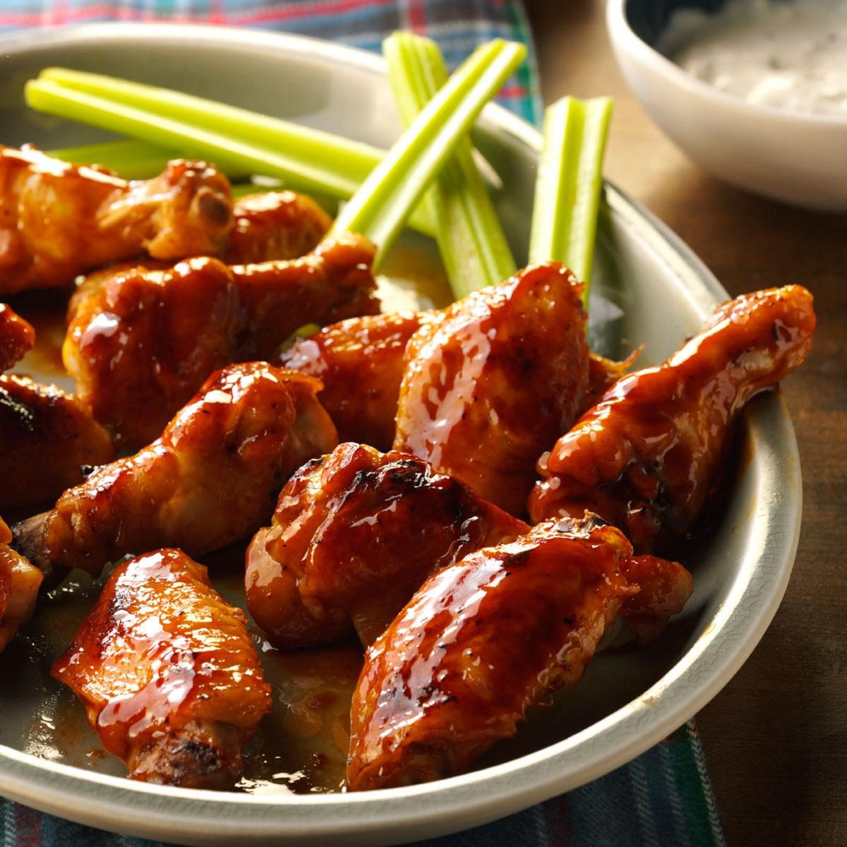 Inspired By: Traditional Wings with Honey BBQ Sauce