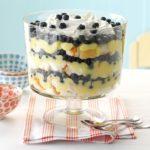 Blueberry Lemon Trifle