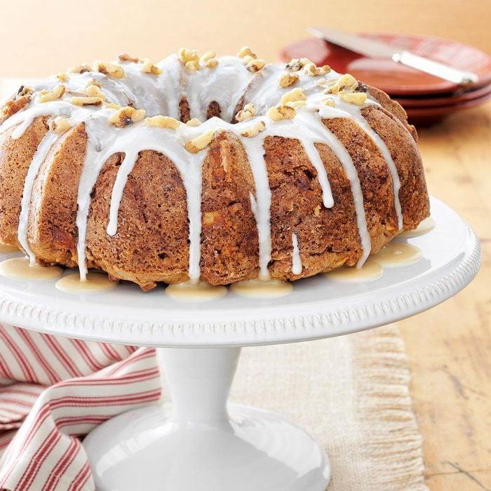 Caramel Apple Cake