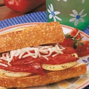 Roasted Pepper and Onion Sandwiches