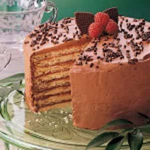 Chocolate Cookie Torte