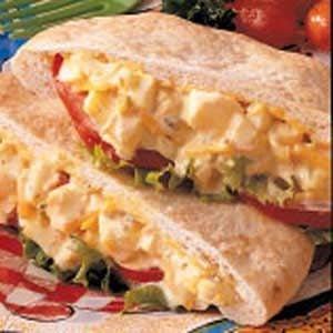 Egg Salad Pitas