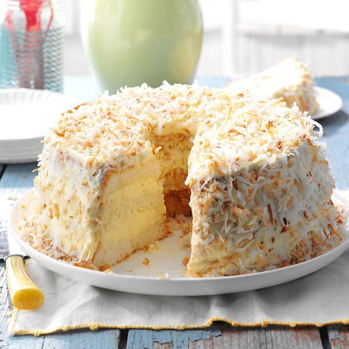 Now: Lime Angel Food Cake