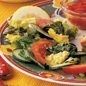 Lemony Tossed Salad