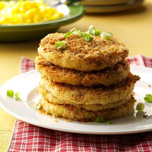 Crispy Mashed Potato Cakes