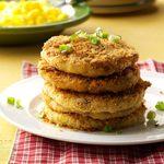 Crispy Mashed Potato Cakes