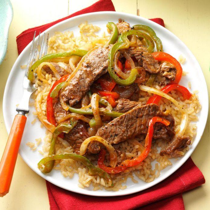 Inspired by: Chipotle's Barbacoa Burrito Bowl with Fajita Vegetables