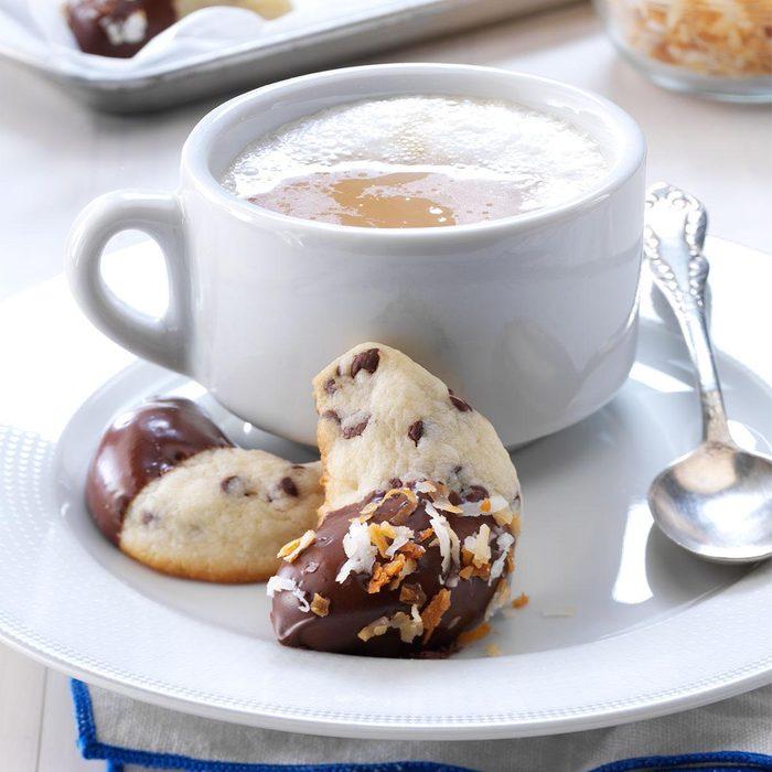 Mini-Chip Crescent Cookies