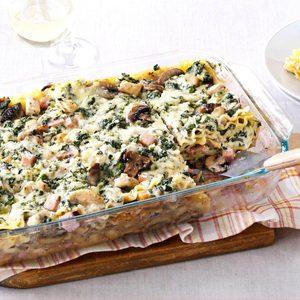 Chicken Marsala Lasagna