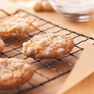 White Chocolate Nut Crackles