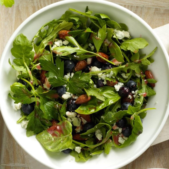 Blue Cheese and Blueberry Tossed Salad