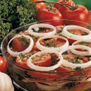 Flavorful Marinated Tomatoes