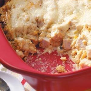 Corn Bread Turkey Casserole