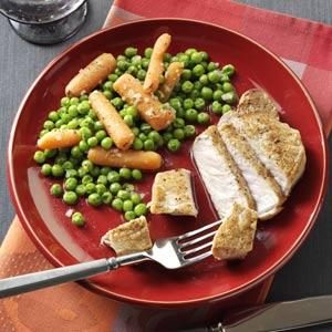 Savory Peas and Carrots