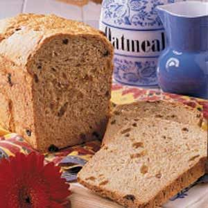 Granola Raisin Bread
