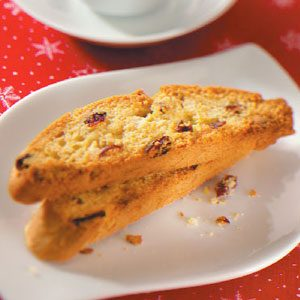White Chocolate-Cranberry Biscotti