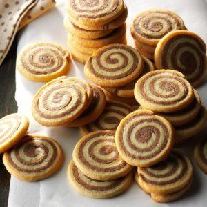 Basic Chocolate Pinwheel Cookies