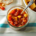 Slow-Cooked Peach Salsa