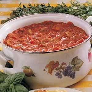 Garden-Fresh Spaghetti