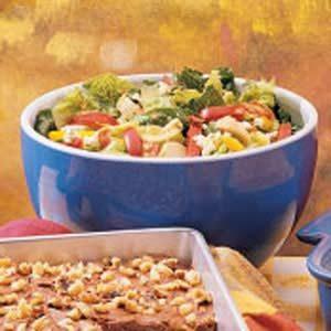 Potluck Artichoke Tossed Salad