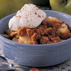 Graham Cracker Apple Crisp for Two