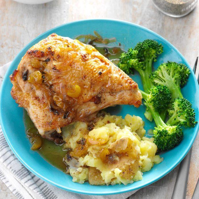 Tangy Glazed Chicken