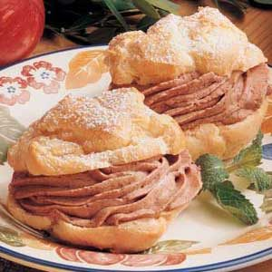 Mocha Cream Puffs
